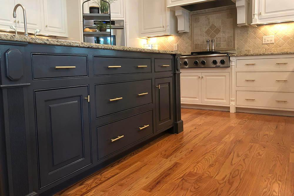 Anderson Painting kitchen wall cabinet paint color