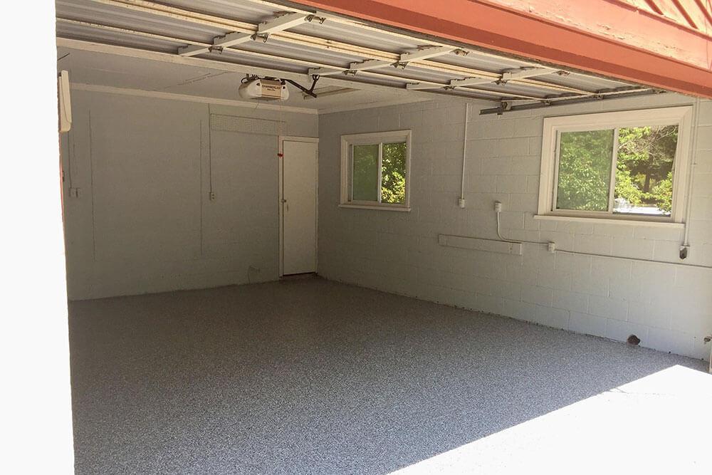 Anderson Painting garage floor sealing service