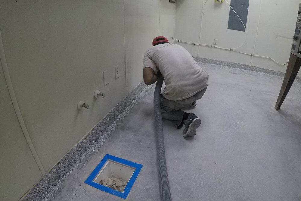 Anderson Painting epoxy floor coating safety