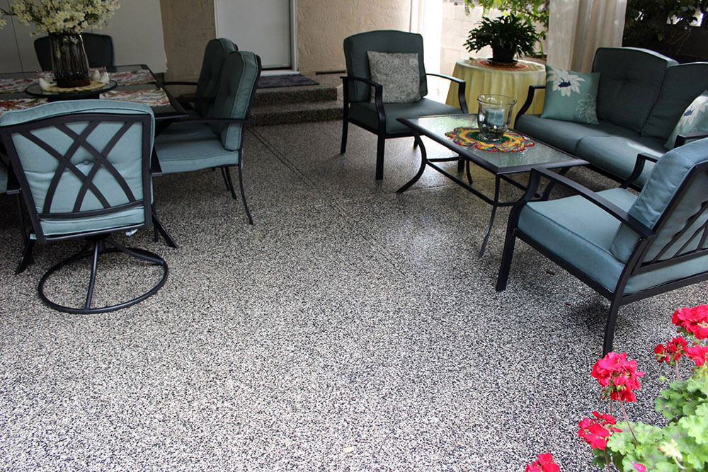 Anderson Painting concrete patio painting