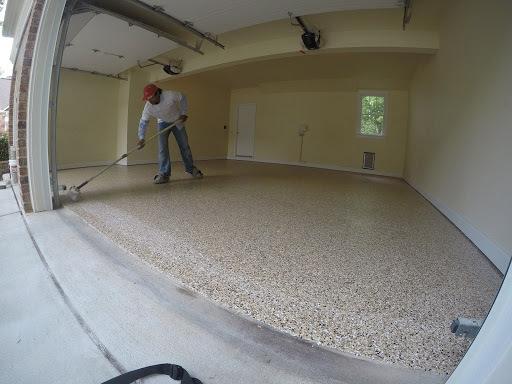 Floor coating contractor in Raleigh