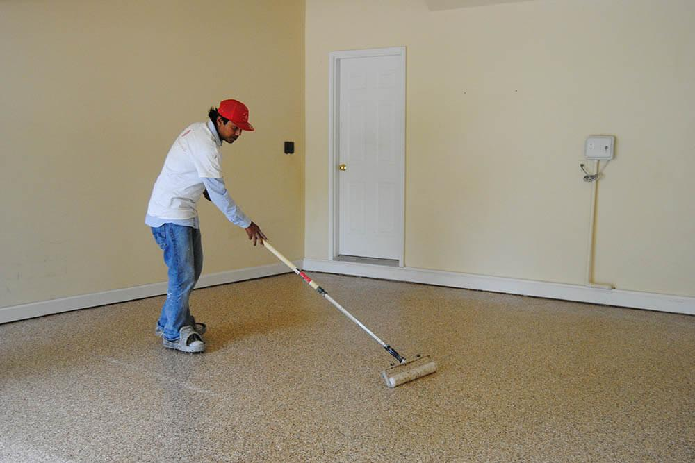 Anderson Painting using slip-resistant epoxy