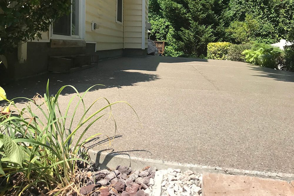 Anderson Painting concrete patio coating
