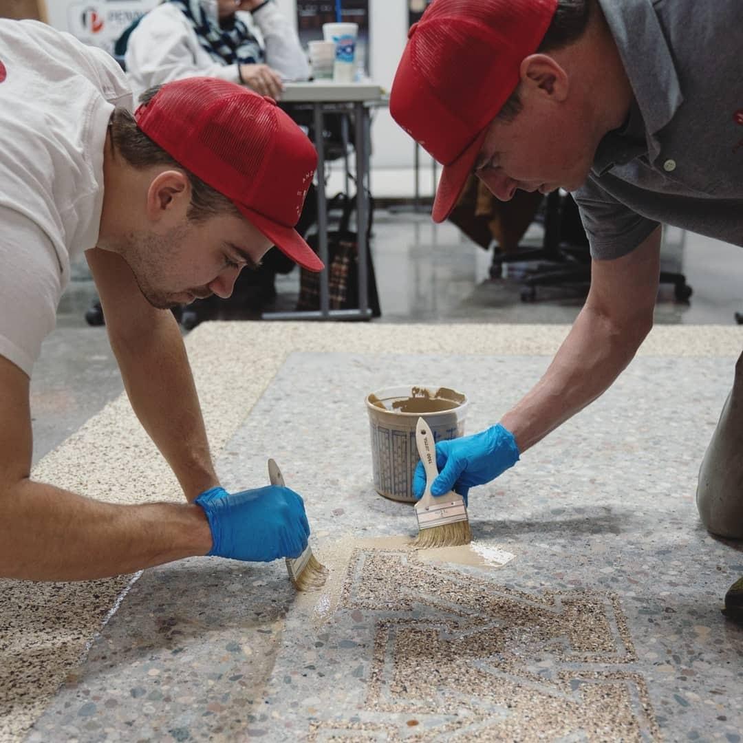 Commercial concrete floor contractors in Raleigh