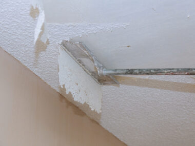 How Removing Popcorn Ceilings Keeps Your Home Cleaner