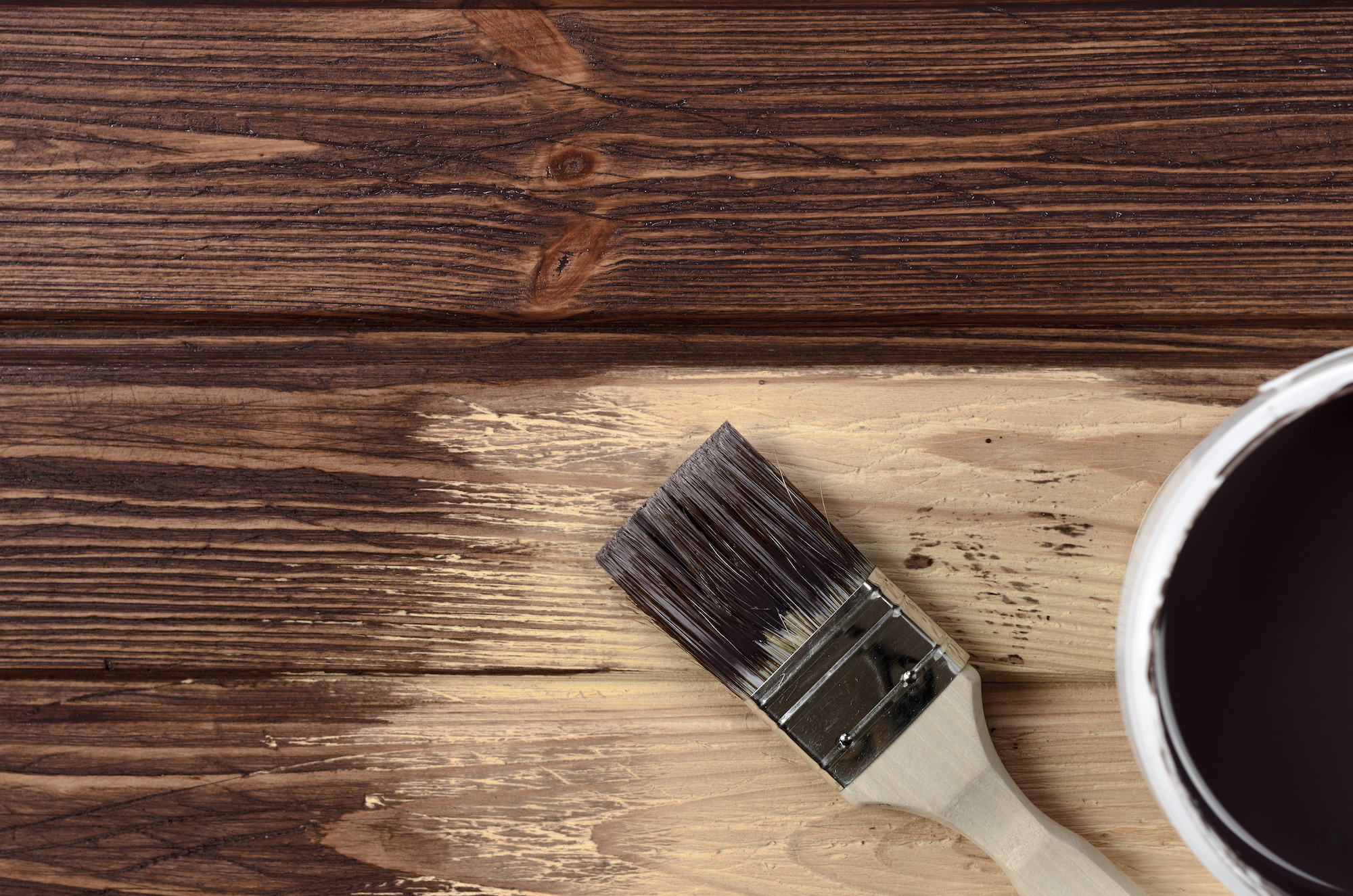 Anderson Painting translucent deck staining